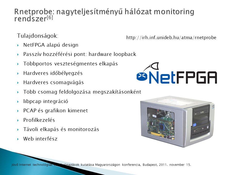 Rnetprobe: nagyteljesítményű hálózat monitoring rendszer[6]